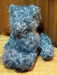The bear sewn together